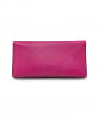 Valextra(ヴァレクストラ)の古着「札入れ/カードケース」|ピンク