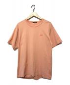 ()の古着「フェイスパッチTシャツ」|ピンク
