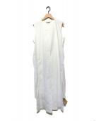 ()の古着「レイヤードワンピース」|ホワイト