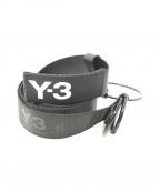 Y-3()の古着「リングベルト」 ブラック