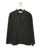 RUDE GALLERY(ルードギャラリー)の古着「パッチワークテーラードジャケット」 ブラック