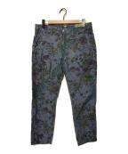 JACOB COHEN(ヤコブコーエン)の古着「総柄パンツ」|ネイビー