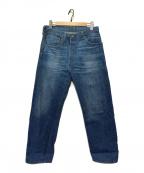 LEVI'S VINTAGE CLOTHING()の古着「カスタマイズドセルビッジコーンデニム」 インディゴ