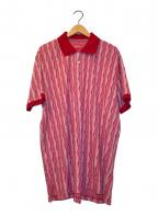 SUPREME(シュプリーム)の古着「ニットS/Sポロシャツ」 レッド