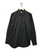 CDG(シーディージー)の古着「バックロゴプリントシャツ」 ブラック