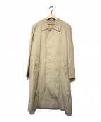 Burberry's(バーバリーズ)の古着「裏ノヴァチェックライナー付ステンカラーコート」 ベージュ