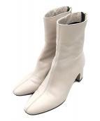 ()の古着「ショートブーツ」 ホワイト