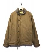 ()の古着「N-1 デッキジャケット」 ベージュ