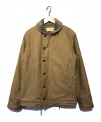 BUZZ RICKSON'S(バズリクソンズ)の古着「N-1 デッキジャケット」|ベージュ