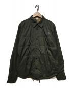 ()の古着「リバーシブルシャツジャケット」|オリーブ