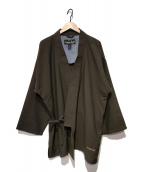 ()の古着「羽織ジャケット」|ブラウン