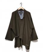 mont-bell(モンベル)の古着「羽織ジャケット」|ブラウン