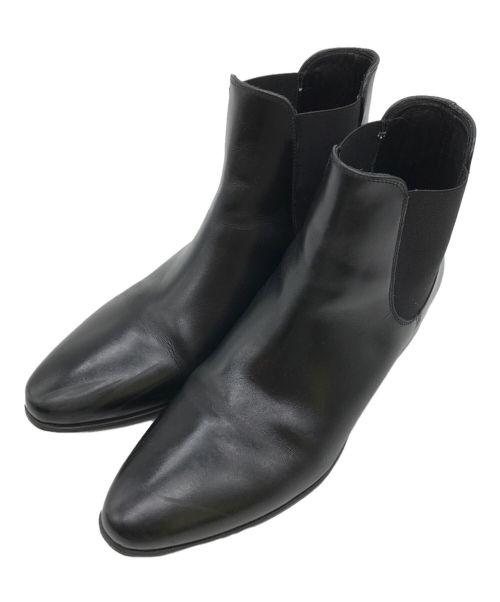 pete sorensen(ピート・ソレンセン)pete sorensen (ピート・ソレンセン) サイドゴアブーツ ブラック サイズ:39の古着・服飾アイテム