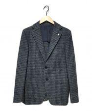 TAGLIATORE (タリアトーレ) ウールテーラードジャケット ネイビー サイズ:44