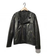 theory (セオリー) レザージャケット ブラック サイズ:40