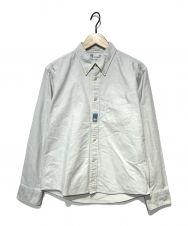VISVIM (ビズビム) ボタンダウンシャツ グレー サイズ:1
