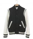 BEDWIN(ベドウィン)の古着「アワードジャケット」|ホワイト×ブラック