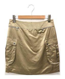 DRAWER(ドゥロワー)の古着「スカート」|ベージュ