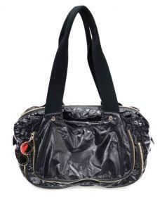 STELLA McCARTNEY(ステラ マッカートニー)の古着「ナイロンハンドバッグ」|ブラック