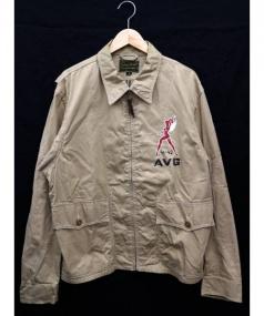 THE REAL McCOYS(ザ・リアルマッコイズ)の古着「ジャケット」 ベージュ