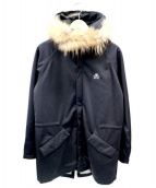 DOARAT×UMBRO(ドゥアラット×アンブロ)の古着「モッズコート」|ブラック