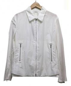 Calvin Klein(カルバンクライン)の古着「ジップジャケット」|ホワイト