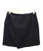 CARVEN(カルヴェン)の古着「ウールスカート」|ブラック