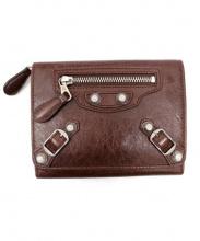 BALENCIAGA(バレンシアガ)の古着「レザー財布」|ブラウン