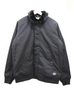 carhartt(カーハート)の古着「中綿ブルゾン」|ブラック