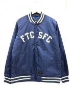 FTC(エフティーシ)の古着「スタジャン」 ネイビー