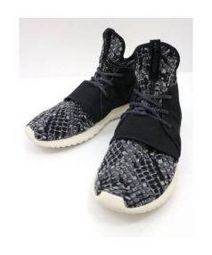 adidas Originals(アディダス オリジナルス)の古着「TUBULAR DFNT」 グレー×ブラック