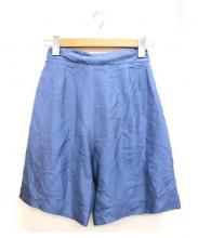 STELLA McCARTNEY(ステラ マッカートニー)の古着「シルク混ショートパンツ」|スカイブルー