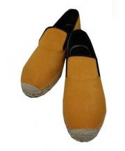 CELINE(セリーヌ)の古着「ハラコエスパドリーユ」|オレンジ