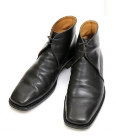 HERMES(エルメス)の古着「レザーブーツ」|ブラック