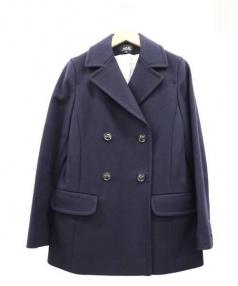 A.P.C.(アーペーセー)の古着「Pコート」|ネイビー