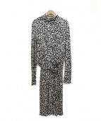 ISSA LONDON(イッサロンドン)の古着「ジャージワンピース」|ホワイト