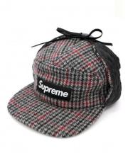 Supreme(シュプリーム)の古着「BOXロゴウールキャップ」|ライトグレー