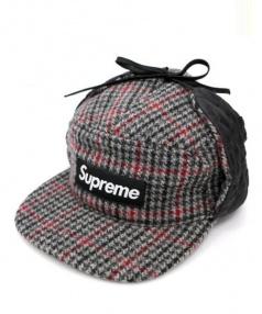 Supreme(シュプリーム)の古着「BOXロゴウールキャップ」 ライトグレー
