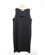 ENFOLD(エンフォルド)の古着「ノースリーブワンピース」|ブラック