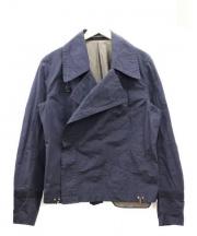 KOLOR(カラー)の古着「デザインコート」 ネイビー