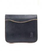 革蛸謹製(カワタコキンセイ)の古着「レザーウォレット」|ブラック
