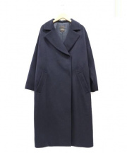 Demi-Luxe BEAMS(デミルクス ビームス)の古着「ウールビーバーロングコート」|ネイビー