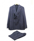 GABRIELE PASINI(ガブリエレ パジーニ)の古着「Wセットアップスーツ」|ネイビー