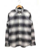 Black Fleece(ブラックフリース)の古着「ボタンダウンシャツ」|ライトグレー