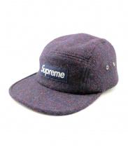 Supreme(シュプリーム)の古着「Harris Tweed Camp Cap」|ネイビー