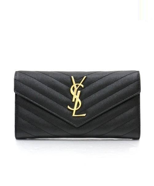 finest selection 046c3 e961d [中古]Yves Saint Laurent(イヴ サン ローラン)のレディース 服飾小物 長財布