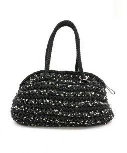ANTEPRIMA(アンテプリマ)の古着「スカルボストンバッグ」|ブラック
