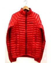 MOUNTAIN HARD WEAR(マウンテン ハード ウェア)の古着「ゴーストウィスパラーダウンジャケット」|レッド