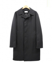 BLUE WORK(ブルーワーク)の古着「比翼コート」|ブラック