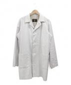 CABANE de ZUCCa(カバンドズッカ)の古着「コーティングリネンコート」 ホワイト